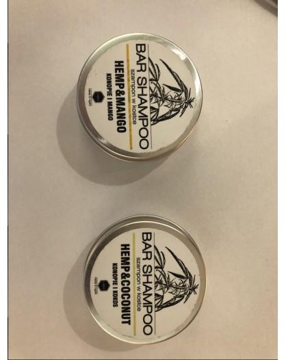 Bar shampoo Hemp&Mango/Hemp&Coconut