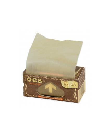 BIBUŁKI OCB VIRGIN PAPERS ROLLS || 4 METRY