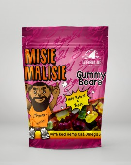 Misie Malisie Hemp Gummies Żelki California Love GM2L