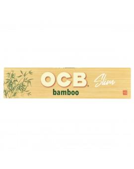 Bibułki OCB Bamboo + tips