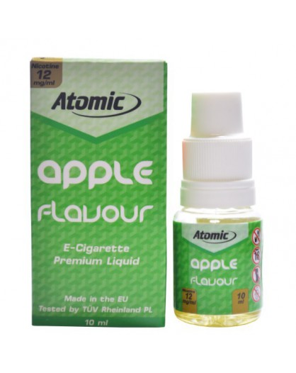 LIQUID ATOMIC || 10 ML || 12 MG || APPLE FLAVOUR