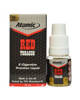 LIQUID ATOMIC || 10 ML || RED TABACCO FLAVOUR