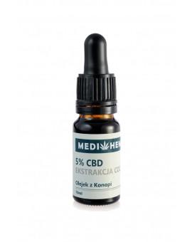 5% CBD naturalny olejek z ekstrakcji CO2 10ml