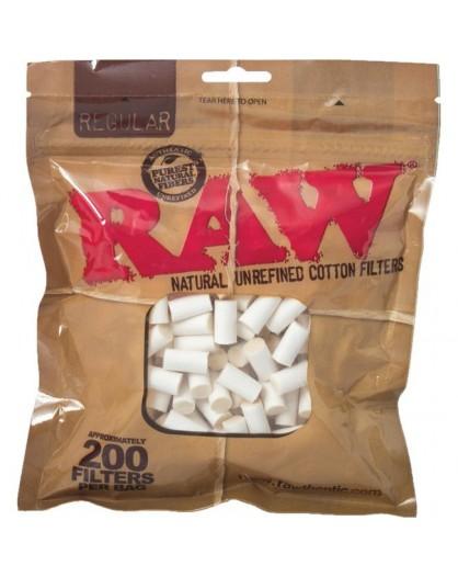 RAW Filtry REGULAR 200szt.