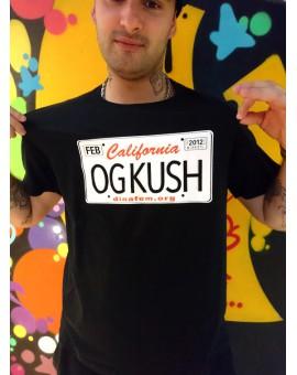 T-Shirt Dinafem OG KUSH CZARNY